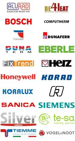 Gyártók a webáruházban